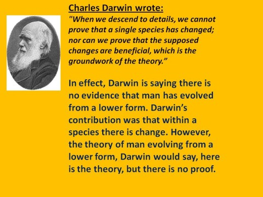 What Darwin Thought