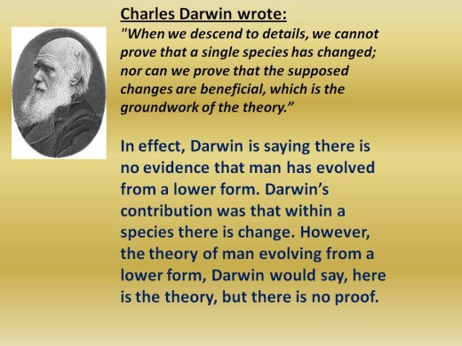 Darwin No To Evolution