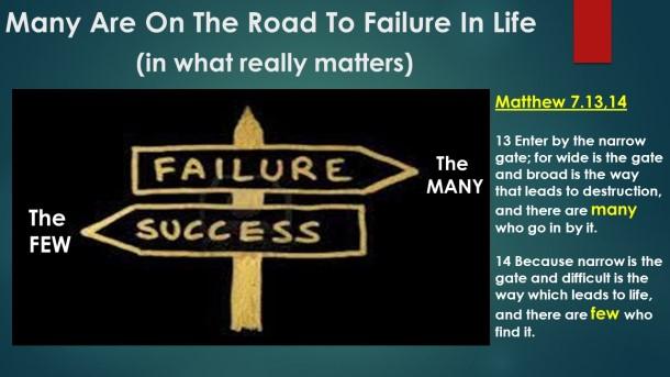 failing in life