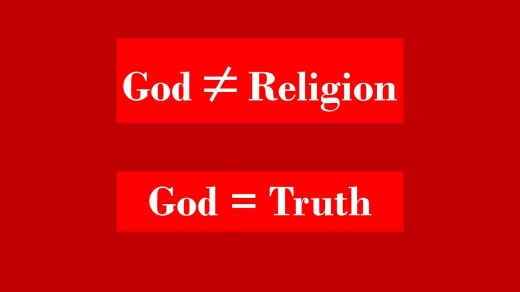 God is not religion