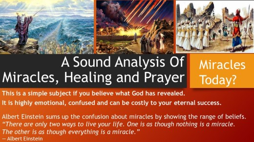 Miracles, Healing and Prayer <P></p> <h3>  <span style=