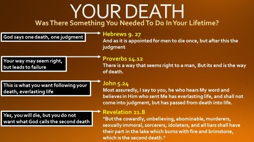 Your death