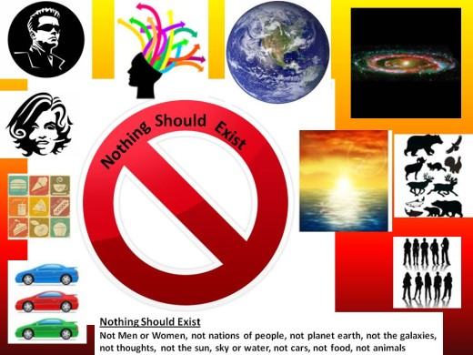 nothing should exist