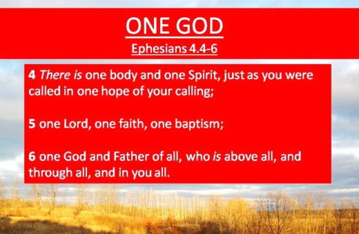 One God Ephesians